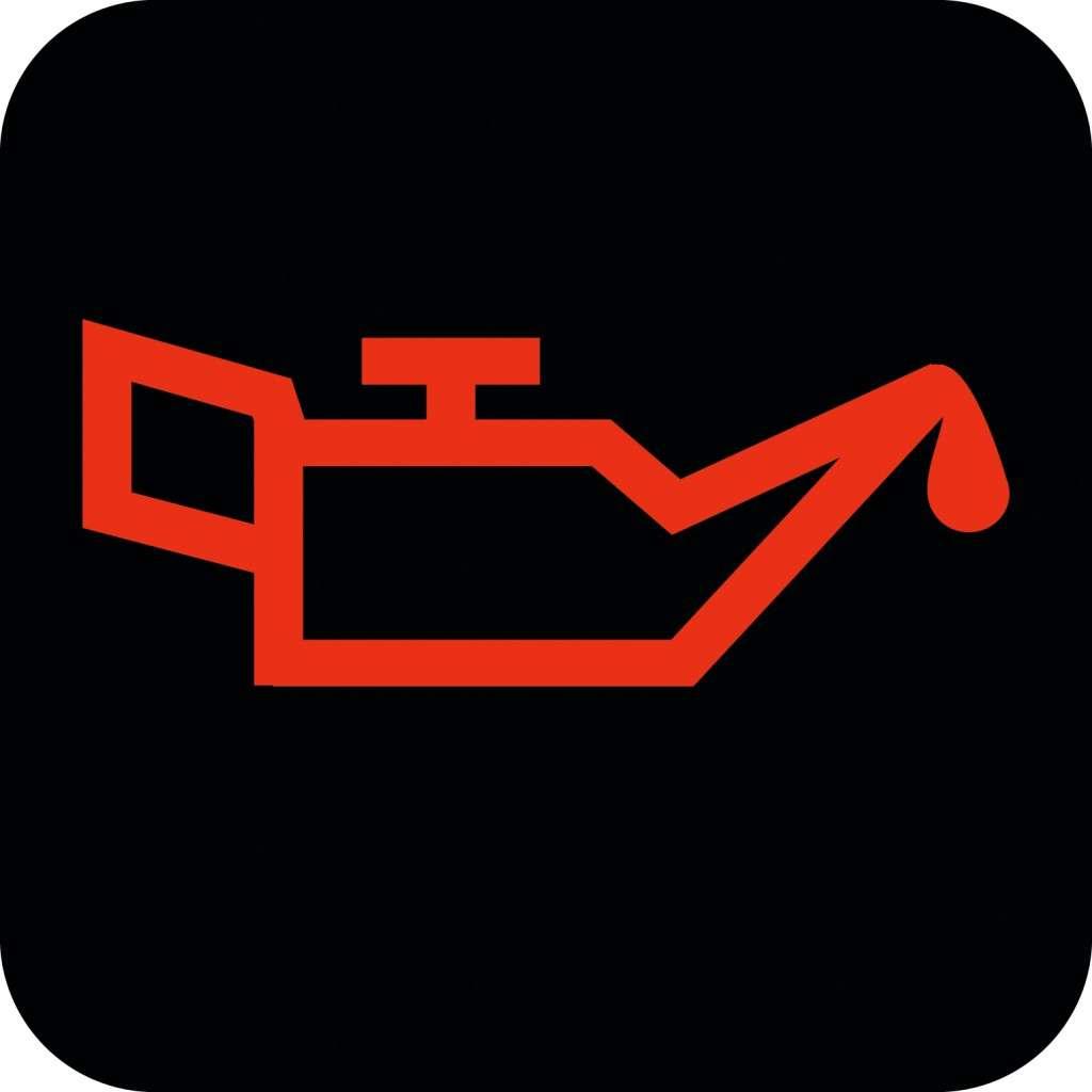 Warnhinweis im Fahrzeug: Leuchtet diese Lampe auf dem Display rot auf, ist der Öldruck zu niedrig. Motor abstellen, Ölstand prüfen und gegebenenfalls nachfüllen - hilft aber nicht immer. Meist muss der Wagen in die Werkstatt geschleppt werden.