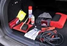 Wintervorbereitung: Ausrüstung im Kofferraum
