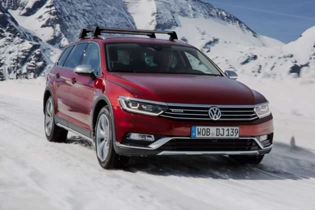 VW Passat Alltrack 2.0 TSI 4Motion