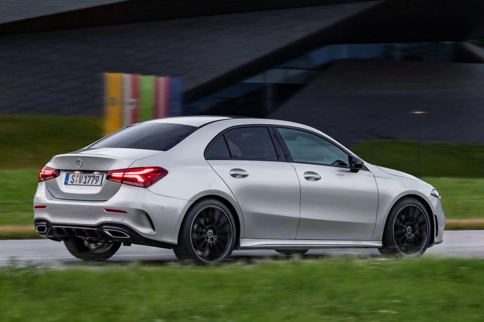 Die neue Mercedes-Benz A-Klasse Limousine